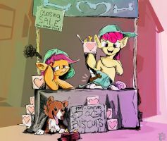 CMC Dog Biscuiteers by mozakiaeolus