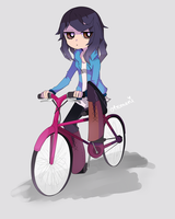 Pink Bicycle by Otromeru