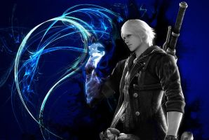 devil may cry 4 nero wallpaper by shedg