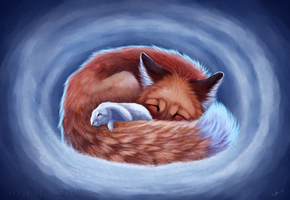 The Fox and The Rabbit (+video) by Skyybi