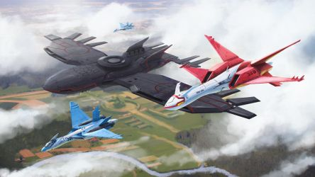 Kalos region Air Force by Dekus