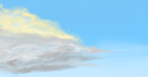 Speed painting - Cloud by SolarLunix