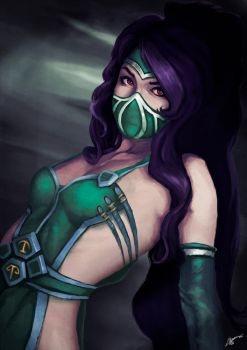 Akali, the fist of shadows. +NSFW by AdrianWolve