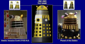 One and the Same [Movie Dalek Prop re-use] by DoctorWhoOne