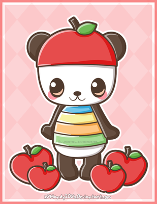 Pandapple by xXMandy20Xx