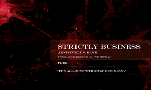Strictly Business by Jane2Audron