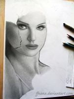 The perfect swan WIP by ffnana