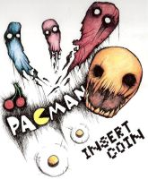 Pac-Man by krumeater