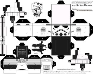 Cubee - Stormtrooper by CyberDrone