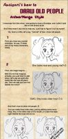 How-to-draw Old People Tut by ansigari