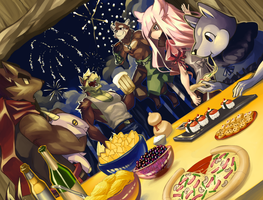 New Year 2015 by chirenbo