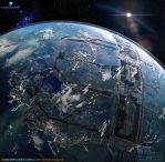 CG Blue Planet by ZOOLAX