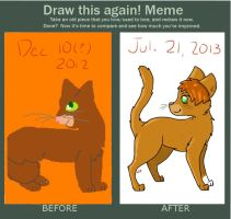 look at you squirrelflight by WinterPawes