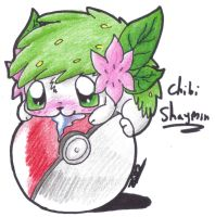 Starloves123's Request - chibi Shaymin :3 by MotherGarchomp622