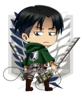 Rivaille SNK by Timagirl