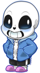 Chibi Sans by Daniela-Arts