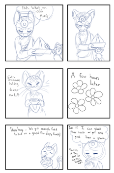 Mission 1 Page 8 WIP by Fairy-Pumpkin-Fox