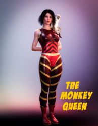 The Monkey Queen By Pgandara by ElectricDinosaurArt