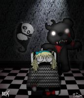 once upon a horror-Goldilocks and the three bears by Little-Horrorz