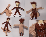 The 10th Doctor Amigurumi by TheSmall-Stuff