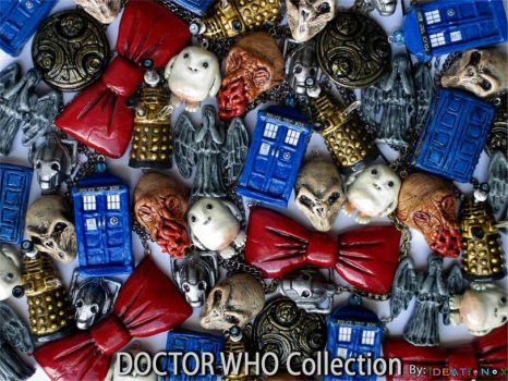 Doctor Who inspired Necklace collection! by Ideationox