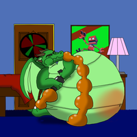 Theradorn's inflation addiction 4/? ( ART TRADE ) by Super526