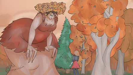 The woods welcome visitors by Big-Uncle-V
