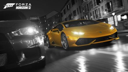 Horizon 2 - Huracan Black and White Version by AcerSense