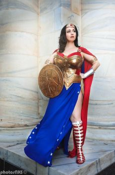Justice League: Athens, Wonder Woman by FireDust