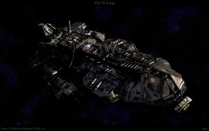 The Warship by Davide-sd