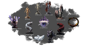 ARPG Items: Souls-Between Trophies by squidina