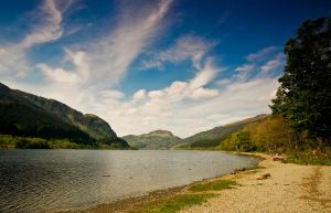 Skies over the Loch by BusterBrownBB