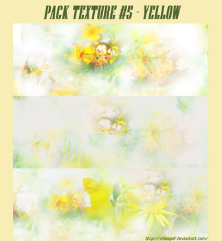 [SHARE] TEXTURES - PACK #5 - YELLOW by xhangelf