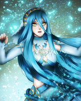 Grief of the beast - Azura | FIRE EMBLEM : FATES by Revasan