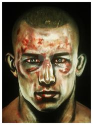 Georges St-Pierre Post-fight|UFC by DanielUndead
