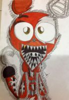 Withered Foxy by Caremelblue