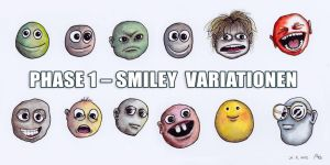 Smileys Variationen by StampferAlex