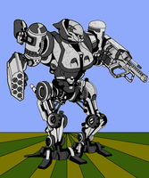 Mecha Series 3-Heavy Arms by simplemanAT