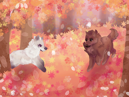 AUTUMN FOREST | Exploring by teaoflilacs
