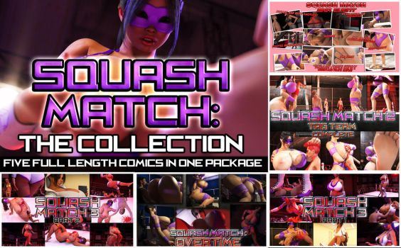 Squash Match Splash Page wide by RedFireD0g