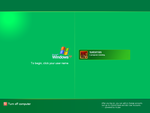 Green XP Logon by dncube