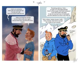 Tintin - Compare the Pair by Eeba-ism