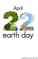 Earth Day poster by innoko