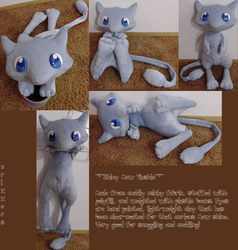 Shiny Mew Plush by Crizzers