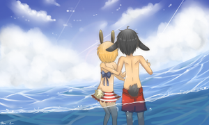 .:+ At The Water +:. by Kaigumo