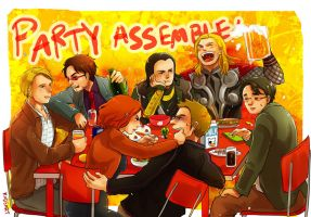 Party Assemble by Kadeart0