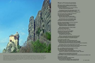 Rock of Consciousness by JKittredge