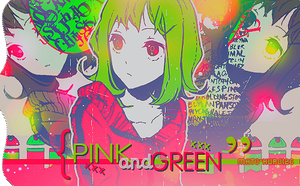 Pink and Green by Mato-Kuroi26