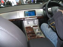 AIMS2010 - Inside a Jaguar XF by TricoloreOne77