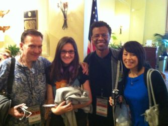 tori with the futurama cast by Kataang102